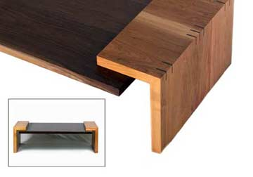 Mod century collection mid modern hardwood furniture for G furniture chicago