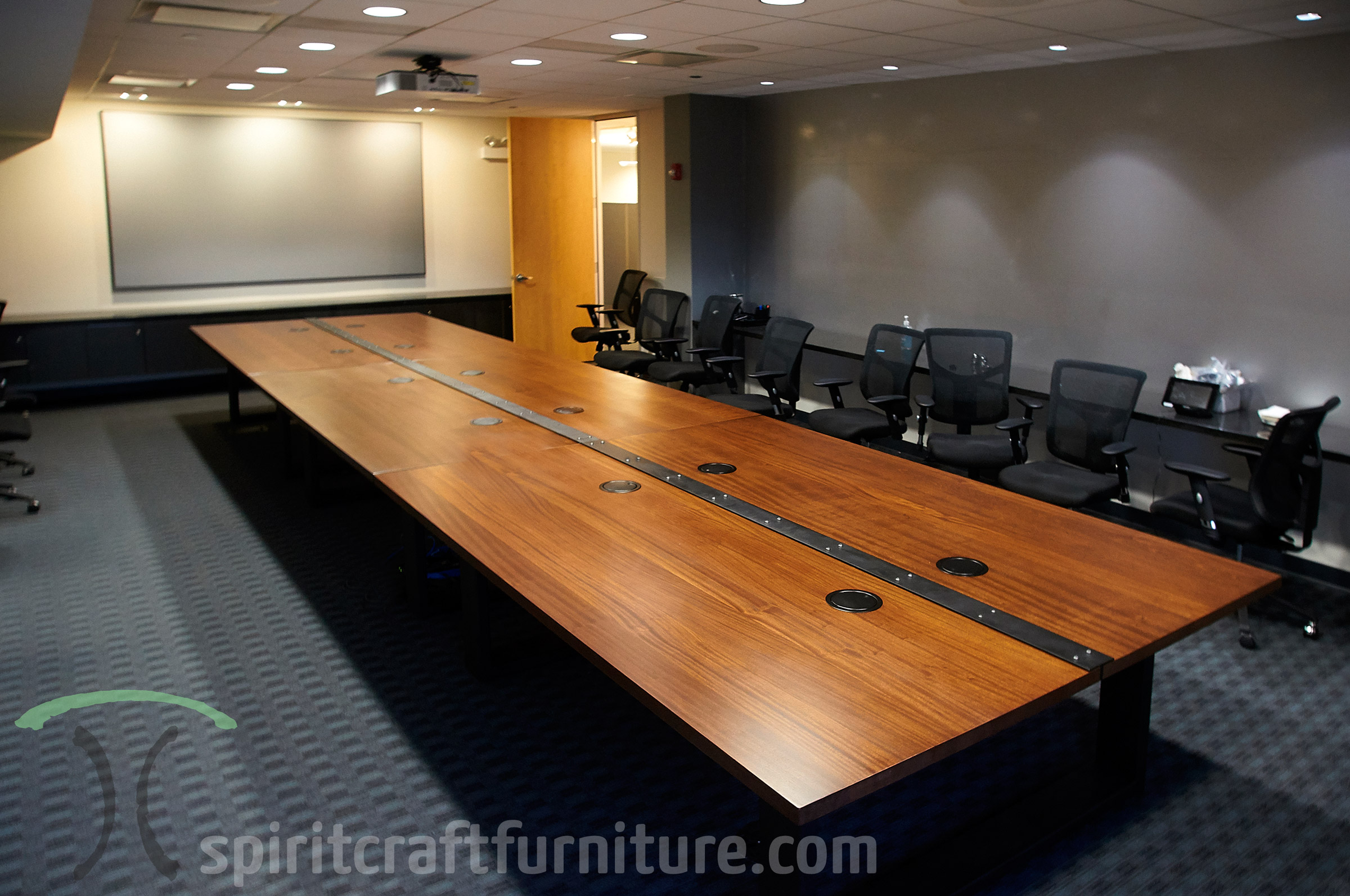 Fantastic Live Edge Wood Slab Conference Room Tables And Desk Tops Home Remodeling Inspirations Genioncuboardxyz