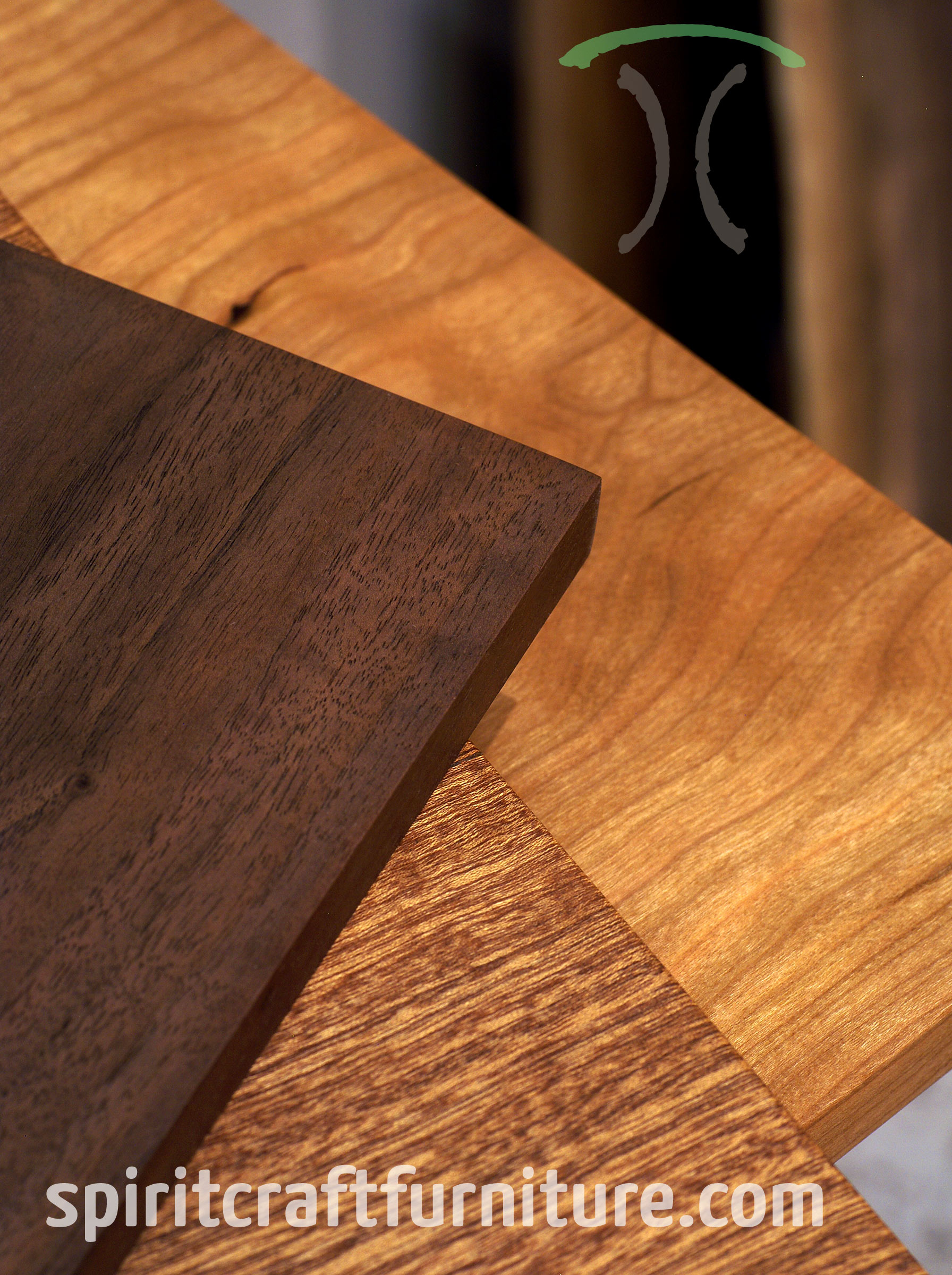 Solid Wood Table Tops In Walnut Cherrry And Sapele Hardwoods For Restaurant Dining Tables